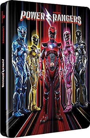 Power Rangers Limited Edition Steelbook / Zavvi Release / Import / Blu Ray: Amazon.es: Cine y Series TV