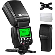 PIXEL X800C Powerful Flash Speedlite TTL 1/8000s Support master slave as 580EX II Canon Flash for Canon 1Ds Mark III, 1Ds Mark II, 1D Mark IV, 1D Mark III EOS 700D 650D Canon Digital DSLR Cameras