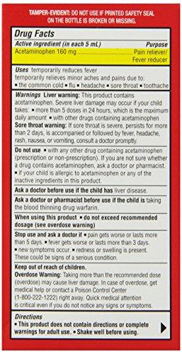 Pediacare Infants Fever Reducer Pain Reliever, 2 Fluid Ounce  non-staining bubble gum flavor