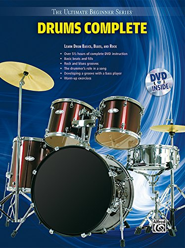 (Ultimate Beginner Drums: Complete, Book & DVD (Sleeve) (The Ultimate Beginner Series))