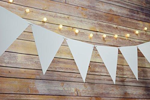 Quasimoon Triangle Pennant Banner PaperLanternStore