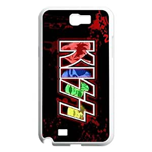 [bestdisigncase] For Samsung Galaxy Note 2 -POP Kiss Music Band PHONE CASE 4