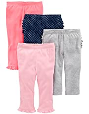 Simple Joys by Carter's Baby-Girls 4-Pack Pant