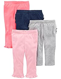 Simple Joys by Carter's Girls' 4-Pack Pant