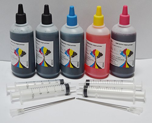 OPT. 500ML UV Resistant Non-OEM Bulk Refill Ink for Epson WORKFORCE WF-2630 WF-2650 WF-2660 T220 XL 2630 2650 2660