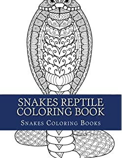 Snakes of the World Coloring Book (Dover Nature Coloring Book ...