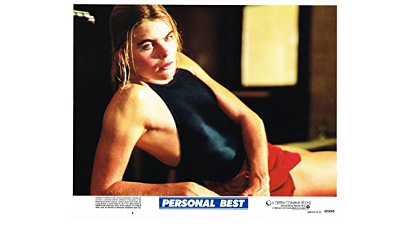 65a9d9de3d0c PERSONAL BEST ORIGINAL LOBBY CARD SEXY POSE MARIEL HEMINGWAY at ...