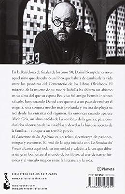 El Laberinto de los Espíritus Biblioteca Carlos Ruiz Zafón: Amazon ...