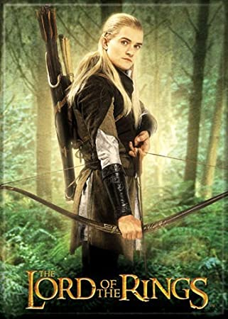 Amazon De Herr Der Ringe Legolas In The Forest Kuhlschrank Magnet