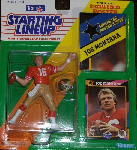 Joe Montana 1992 Starting Lineup by Starting Line Up