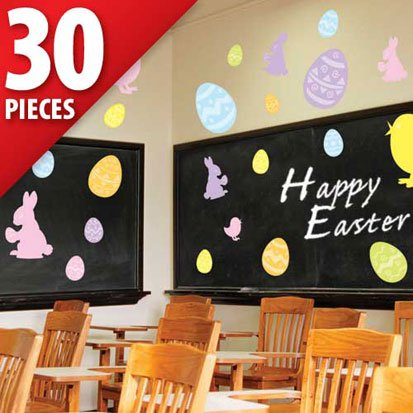 Easter Assorted Value Pack Cutouts 30ct (Kids Easter Cards compare prices)