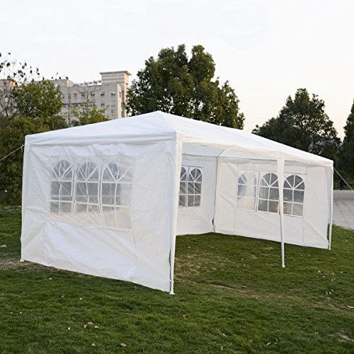 New Outdoor 10'x20'Canopy Party Wedding Tent Gazebo Pavilion Cater Events 4 Sidewall (Halloween Block Party Near Me)
