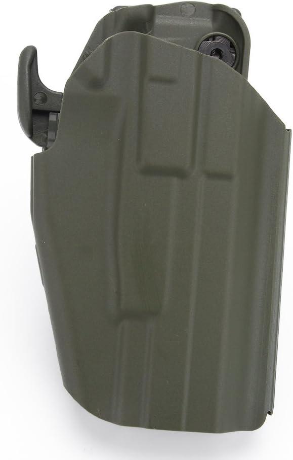 Tactical Belt Holster Quick Pull Pistola para Glock 17 23 Sig p226 Movie Props