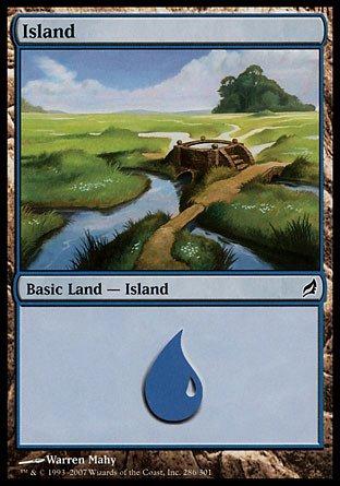 Magic: the Gathering - Island (286) - Lorwyn