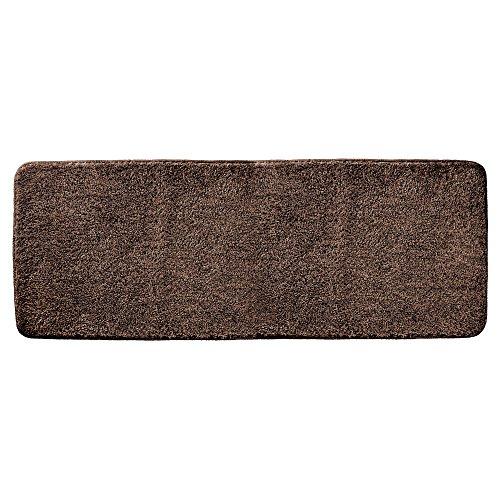 Contour Bathroom Vanity (mDesign Soft Microfiber Polyester Non-Slip Extra-Long Spa Mat/Runner, Plush Water Absorbent Accent Rug for Bathroom Vanity, Bathtub/Shower, Machine Washable - 60