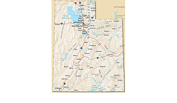 ALASKA YUKON ROAD MAP GLOSSY POSTER PICTURE PHOTO BANNER state canada city 3316