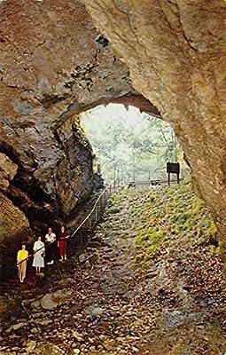 Caves Post Card Historic Entrance Mammoth Cave National Park, Kentucky, USA 1962