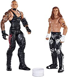 WWE Battle Pack Series #33: Undertaker vs. Shawn Michaels Action Figure (2-Pack)