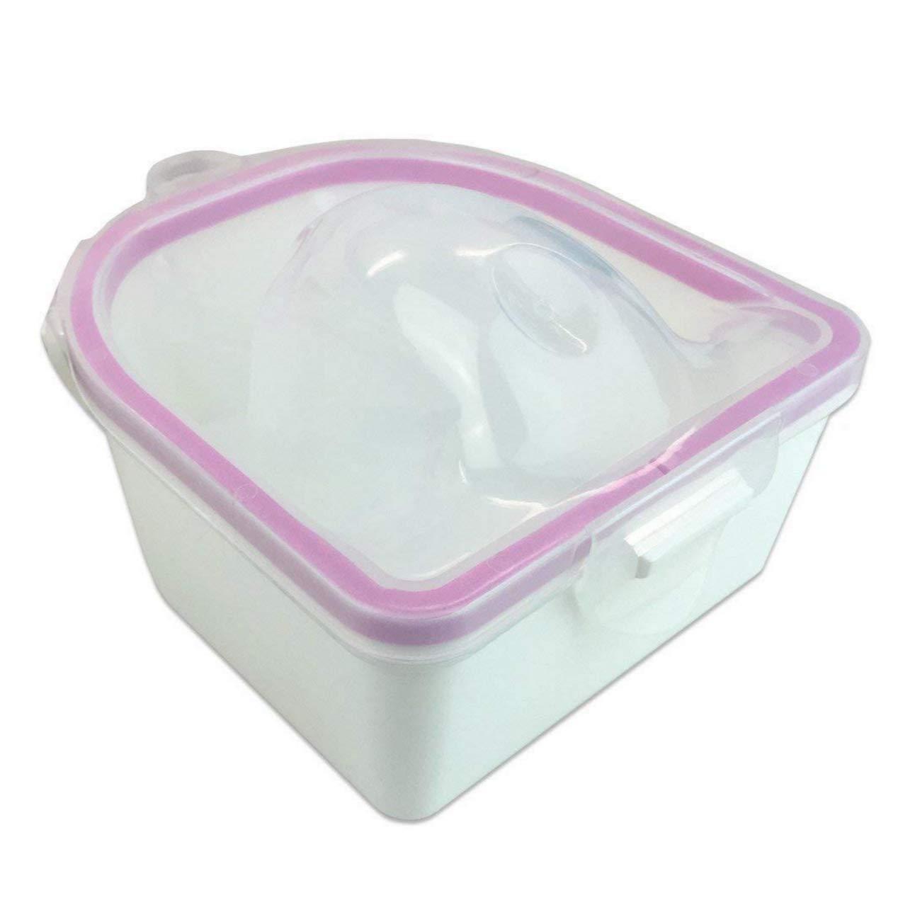 Professional Acetone Resistant Soak Off Warm Nail Spa Bowl Manicure Tool J0886-1 BeautyCenter