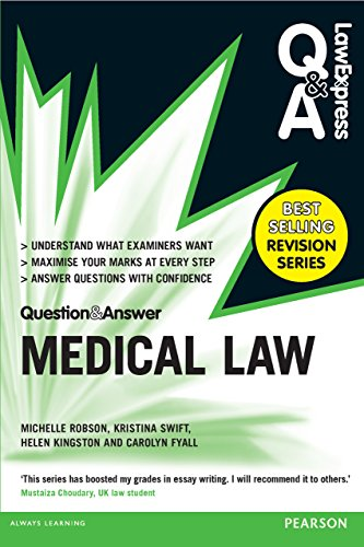 Law Express Question and Answer: Medical Law (Law Express Questions & Answers) Pdf