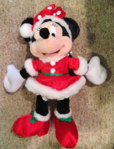 Disney Minnie Mouse 18 de Noël en peluche Happy Holidays 2013