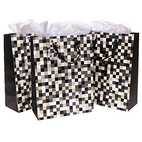 Pixels Style Party Birthday Tissues