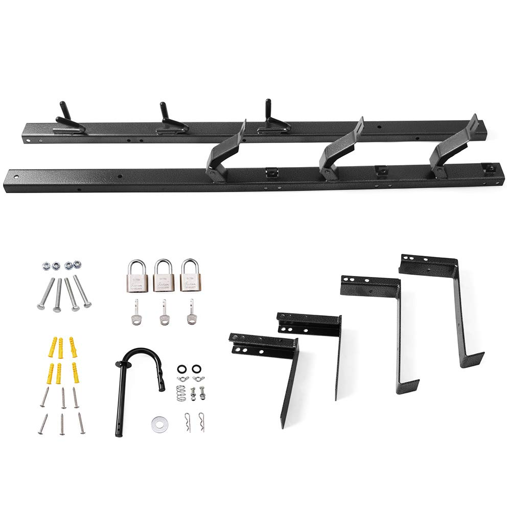 HEKA 3 Place Weedeater Trimmer Racks for Enclosed Trailers Racks