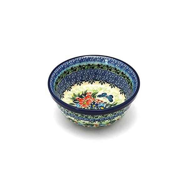 Polish Pottery Bowl – Soup and Salad – Unikat Signature – U4553