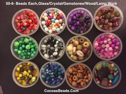 Cocoa's Beads Jewelry Making Bead Kit, Glass Beads, Swarovski Crystal, Bead Book,findings,supplies, Gemstones, Wedding Cakes, Lamp Work, Tiger Wire,findings, in USA (Jewelry Cake Swarovski)