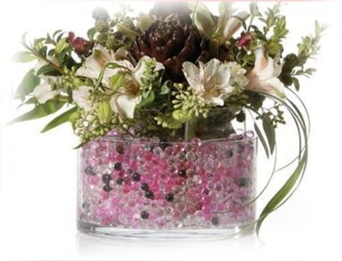 Water Beads for Wedding, Holiday, & All Occasion Home Decor – 10 Gram Pack – Makes 1 Quart (4-5 Cups) (Pink)