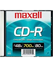 Maxell CDR700 1-Pack 700MB Blank Recordable CD 648201