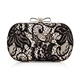Kuke Women Clutch Bag Purse Lace Style Evening Bag Charming and Fashion Wedding Party Clutch Bag