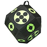 Elkton Outdoors 2017 Edition 18-Sided 3D Cube Reusable Archery Target Constructed With Arrow Puller & Rapid Self Healing XPE Foam for all Arrow Types