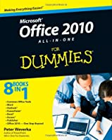 Office 2010 All-in-One For Dummies Front Cover