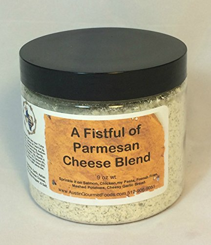 A Fistful of Parmesan Cheese Blend by AUSTIN GOURMET FOODS