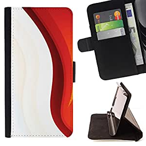 Jordan Colourful Shop - Minimalist Pattern For Apple Iphone 5 / 5S - Leather Case Absorci???¡¯???€????€??????????&f