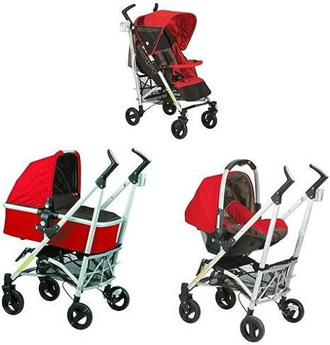 NURSE Pack silla de paseo Trio Swift cereza: Amazon.es: Bebé