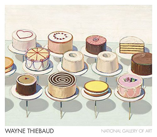Thiebaud Poster (Cakes, 1963 Poster Print by Wayne Thiebaud (32 x 28))
