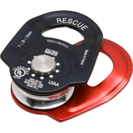 Petzl Rescue Pulley - One Size - Red/Black - Petzl Pulley