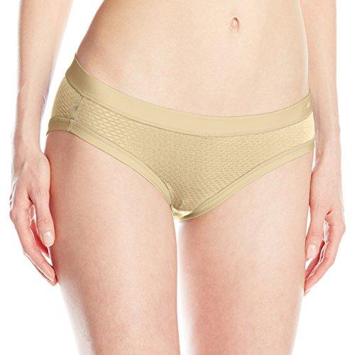 Free ExOfficio Women's Give-n-Go Sport Mesh Bikini Brief, Nude, X-Large