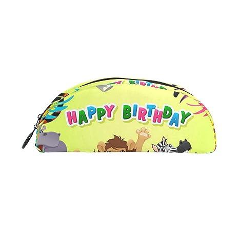 Creative Animal Tiger Elephant Happy Birthday - Estuche para ...