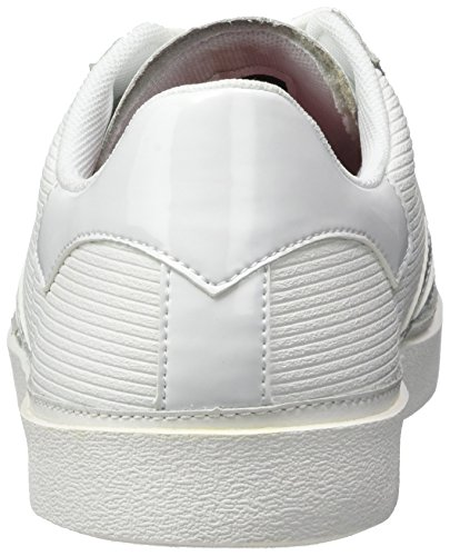 Hummel Diamant White Stripes, Zapatillas para Mujer Blanco (White)