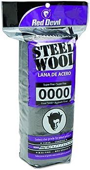 Red Devil Lã de aço 0310, 0000 super fina (pacote com 16)