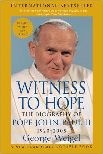 - Witness to Hope: The Biography of Pope John Paul II