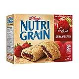 Kellogg's Nutri Grain Cereal Bars, Strawberry, 8 Bars 295 Gram