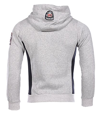 Geographical Norway homme - Sweatshirt gris Geographical Norway Gafont - Taille vêtements - XXXL
