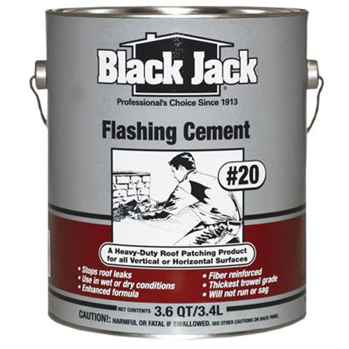 gardner-gibson 6237-9-34 Black Jack, 3.6 QT, #20 Flashing Cement