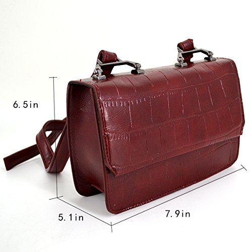 Millya - Bolso mochila  para mujer, gris (Gris) - bb-01906-02C Red