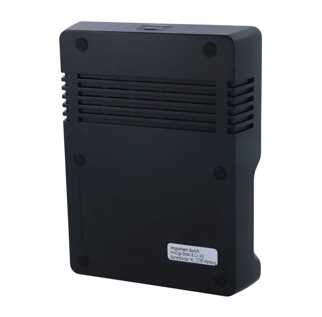 XTAR VC4S Cargador de Pilas 4 bah/ías, USB, 3,6 V//3,7 V, Ion de Litio, 18650, 18700, 26650, 32650, 1,2 V, NI-MH//NI-CD, AAA