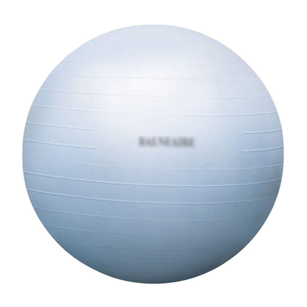 Sports Fitness Yoga Ball Thick Explosion-Proof Indoor Fitness Ball Balance Ball Rehabilitation Training Ball Folding Easy to Carry (Load Bearing: 500kg) Exercise Ball Chairs
